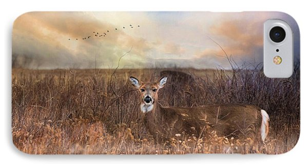 IPhone Case featuring the photograph White Tail by Robin-Lee Vieira