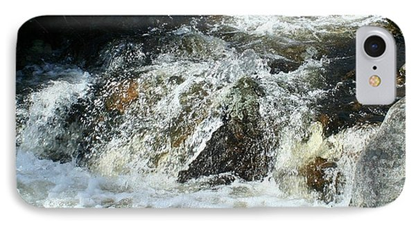 IPhone Case featuring the digital art White Water by Barbara S Nickerson