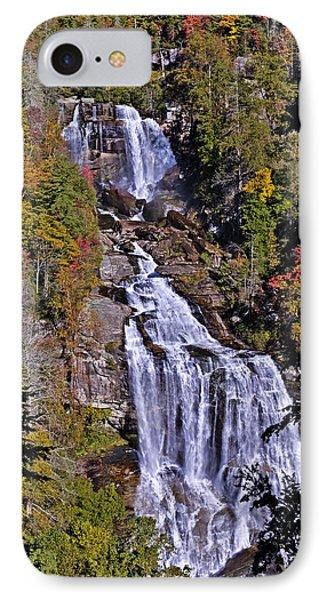 White Water Falls IPhone Case by John Gilbert