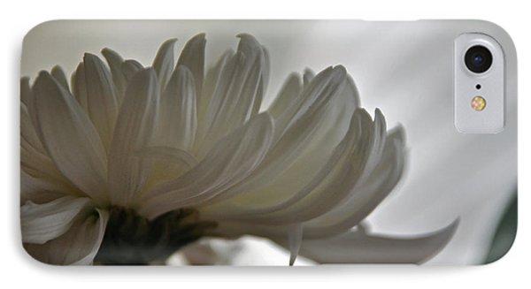 White Waves IPhone Case by Teresa Blanton