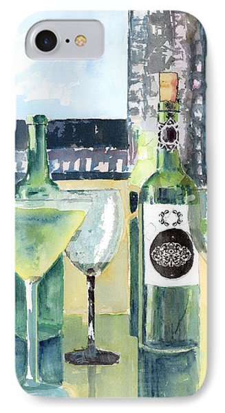 White Wine Phone Case by Arline Wagner