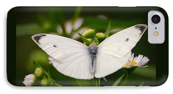 White Wings Of Wonder IPhone Case