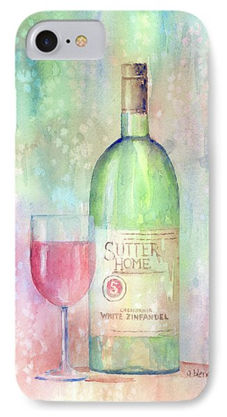 White Zinfandel Phone Case by Arline Wagner