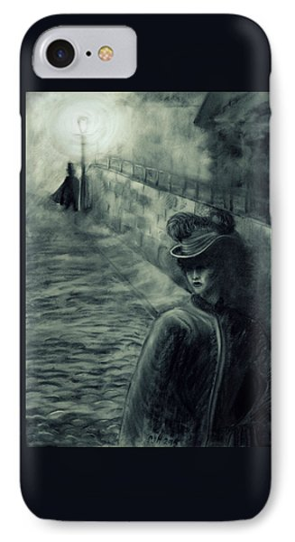 Whitechapel By Gaslight IPhone Case by Philip Harvey