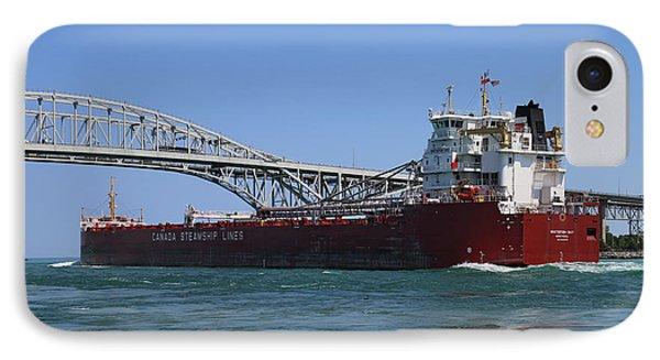 Whitefish Bay And Blue Water Bridge 2 IPhone Case