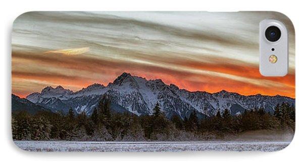 Whitehorse Sunset Panorama IPhone Case