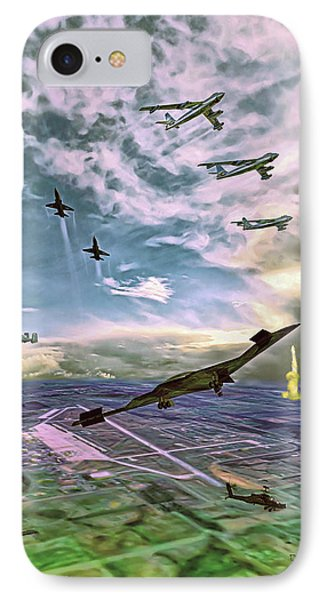 Whiteman Air Force Base IPhone Case by Dave Luebbert