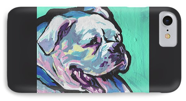 Whitey Boxer Boy IPhone Case by Lea