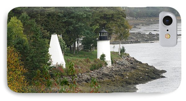 Whitlock Mill Lighthouse IPhone Case by George Jones