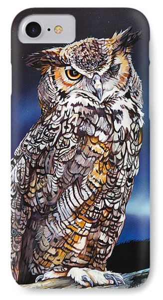 Who Doesn't Love The Night IPhone Case by J W Baker