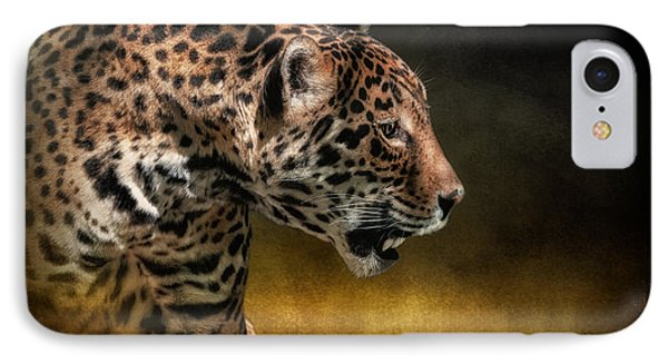 Who Goes There IPhone 7 Case by Lois Bryan