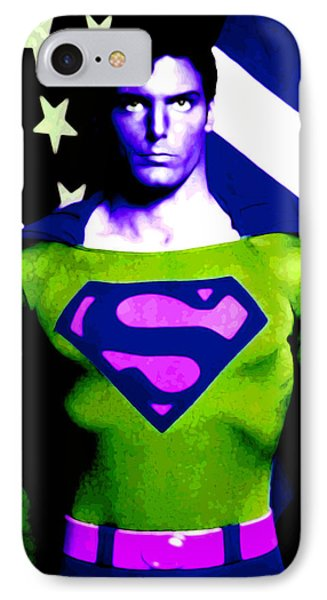 Who Is Superman IPhone Case by Saad Hasnain