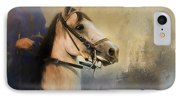 Whoa Slow Down Horse Art IPhone Case by Jai Johnson