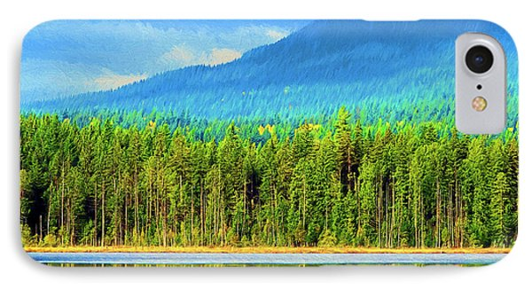 IPhone Case featuring the photograph Whonnock Lake Mountain Photo Art by Sharon Talson
