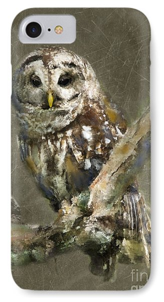 Whoooo IPhone Case by Betty LaRue