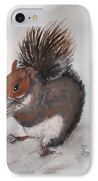Who's Had Me Nuts IPhone Case by Carole Robins