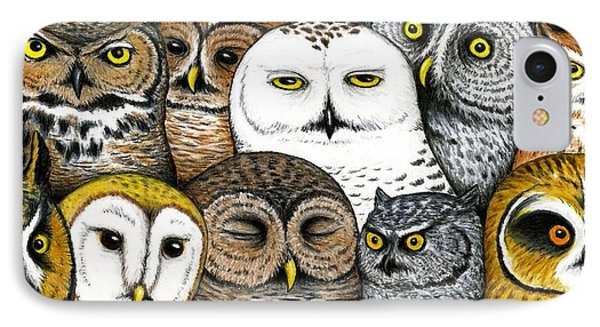 Who's Hoo IPhone Case by Don McMahon