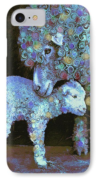 Whose Little Lamb Are You? Phone Case by Jane Schnetlage