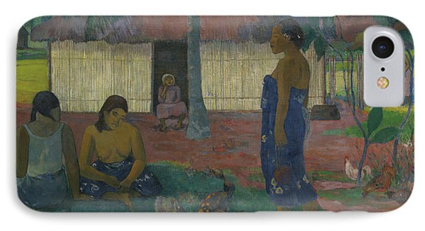 Why Are You Angry IPhone Case by Paul Gauguin