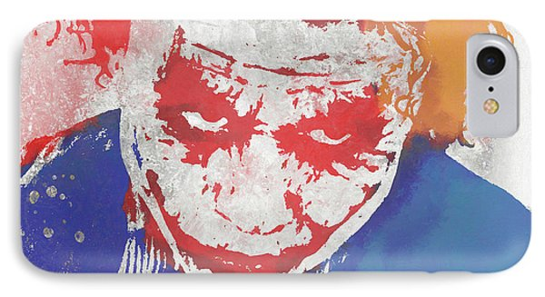 Why So Serious IPhone Case by Dan Sproul