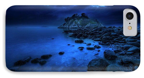 IPhone Case featuring the photograph Whytecliff Dusk by John Poon