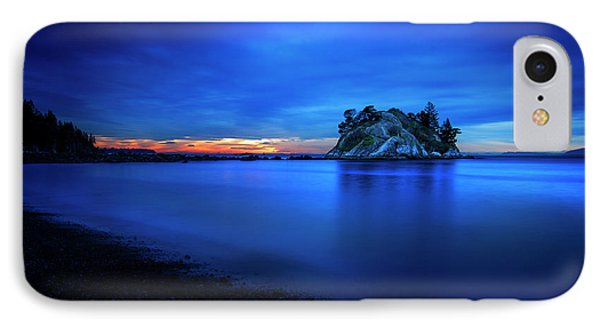 Whytecliff Sunset IPhone Case by John Poon