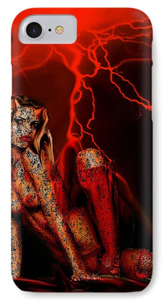 Wicked Beauty IPhone Case by Tbone Oliver