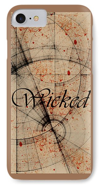 Wicked Phone Case by Cynthia Powell