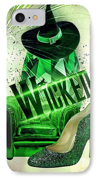 IPhone Case featuring the digital art Wicked by Mo T