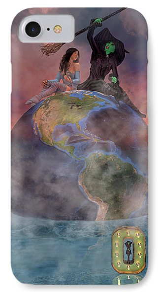 Wickedful Oz IPhone Case by Betsy Knapp