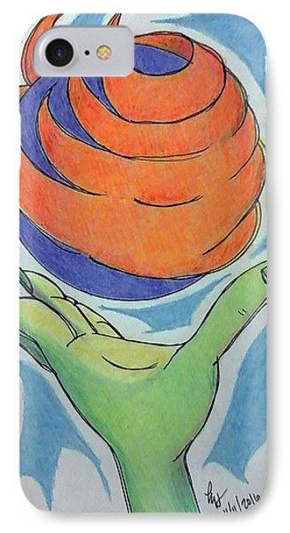 Wicket Fireball Phone Case by Loretta Nash