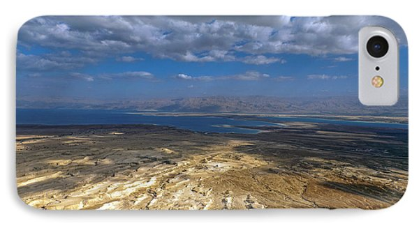 Wide View From Masada IPhone 7 Case by Dubi Roman