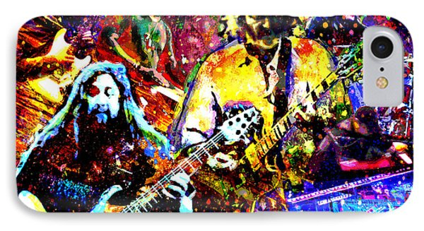 Widespread Panic Art IPhone Case by Ryan Rock Artist