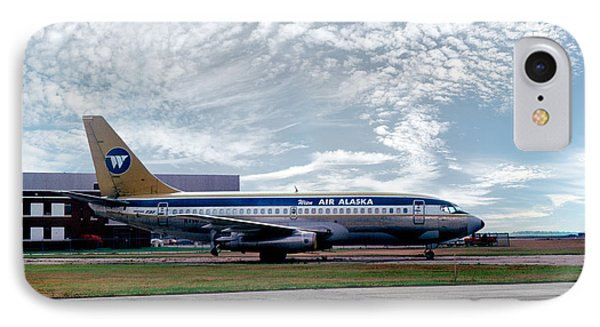 Wien Air Alaska Boeing 737, N4907 IPhone Case by Wernher Krutein