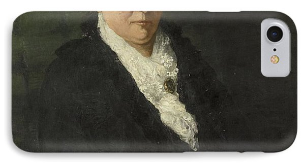 Wife Of David Menno IPhone Case by Hendrik Willem