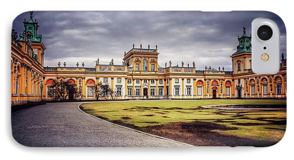 Wilanow Palace In Warsaw  IPhone Case by Carol Japp