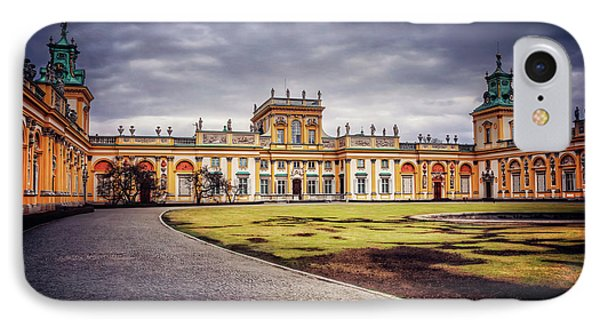 Wilanow Palace In Warsaw  IPhone Case
