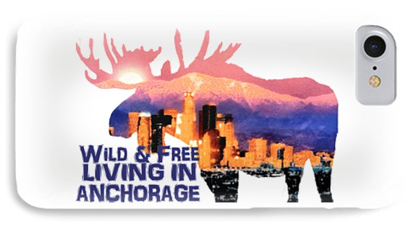 Wild And Free IPhone Case by Elaine Ossipov