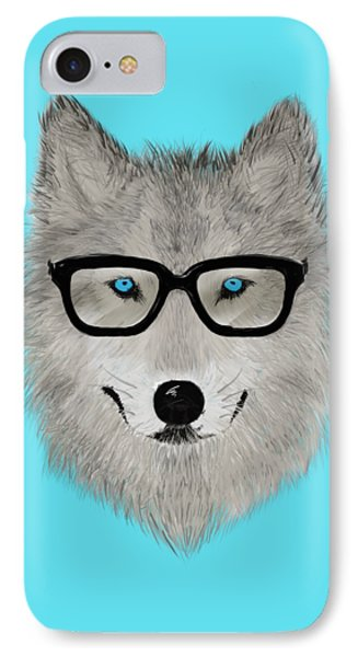 Wild Animal With Glasses - V02 IPhone Case by David Ardil