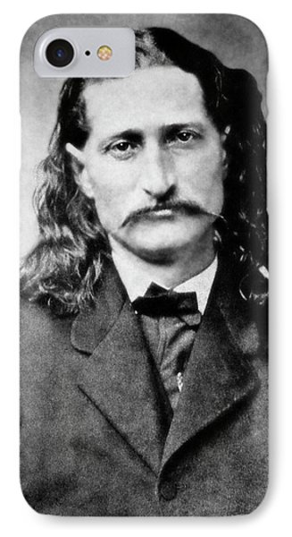 Wild Bill Hickok - American Gunfighter Legend IPhone Case by Daniel Hagerman