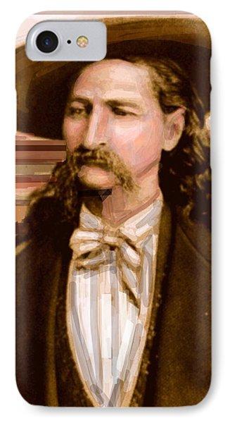 Wild Bill Hickok Phone Case by Larry Lamb