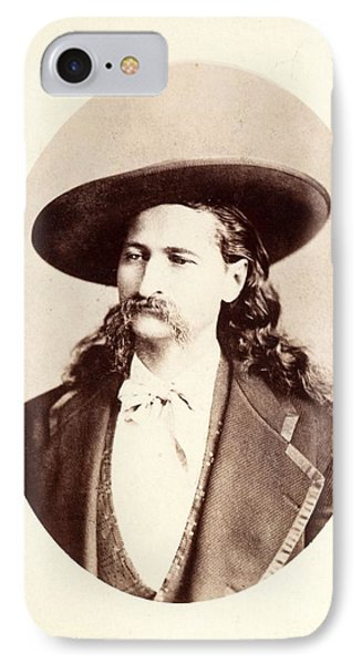 IPhone Case featuring the photograph Wild Bill Hickok by Pg Reproductions