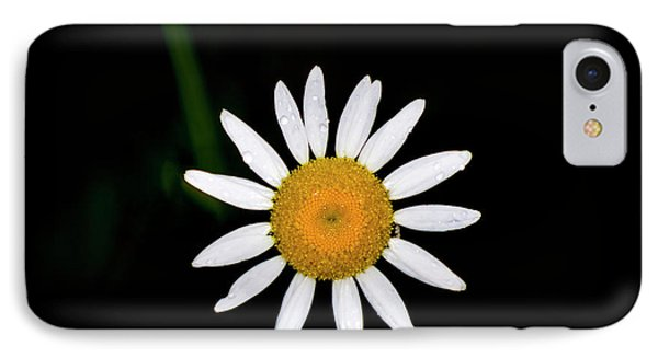IPhone Case featuring the digital art Wild Daisy by Chris Flees
