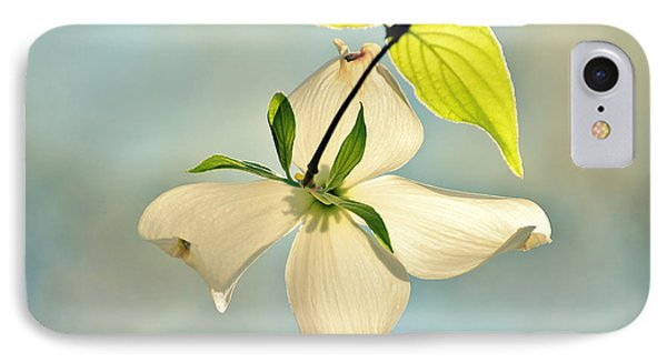 Wild Dogwood Bloom 2 IPhone Case