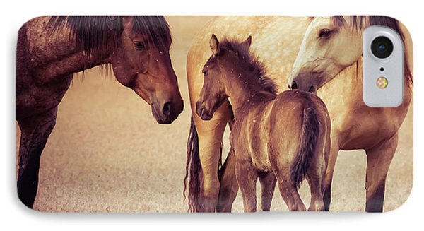 Wild Family IPhone Case by Mary Hone