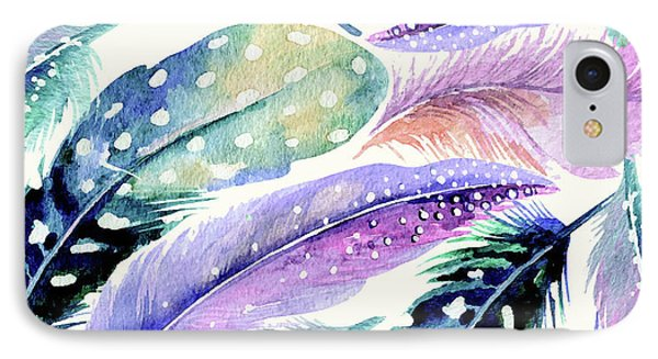 Wild Feathers IPhone Case