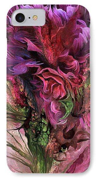 Wild Flower 3 - Organica IPhone Case by Carol Cavalaris