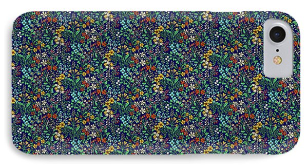 Wild Flower Field IPhone Case by Sholto Drumlanrig
