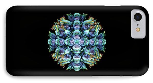 IPhone Case featuring the digital art Wild Flower by Lyle Hatch