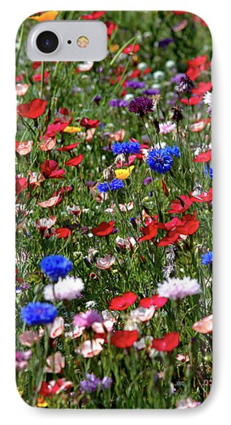 Wild Flower Meadow 2 IPhone Case